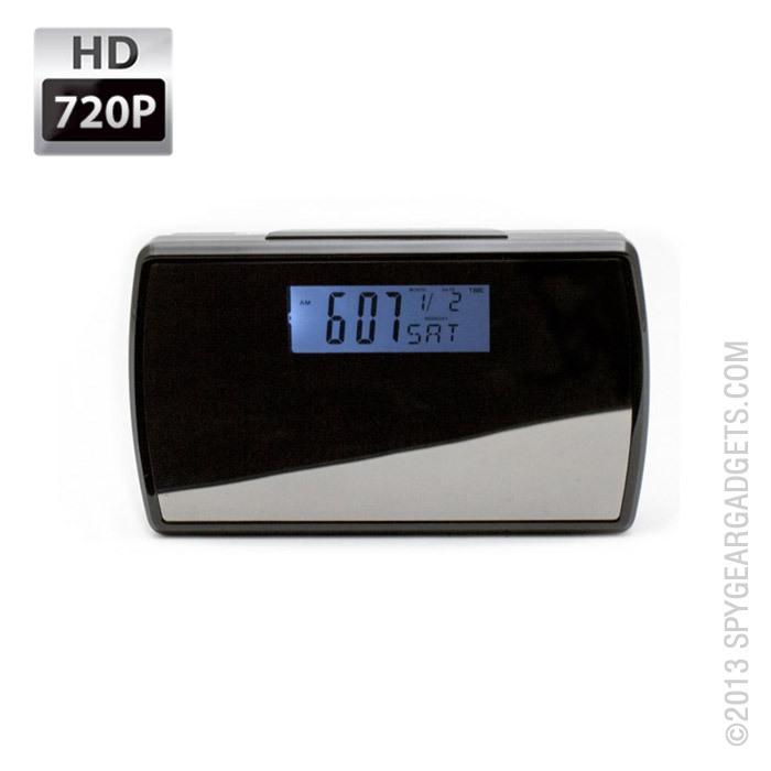 720P HD Clock Camera