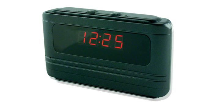 Mini Alarm Clock Hidden Camera