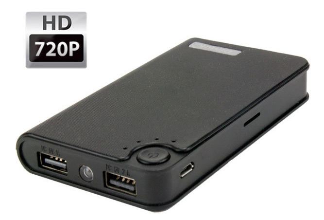 HD Battery Pack Hidden Camera