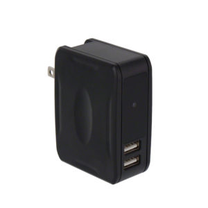 USB Wall Charger Hidden Camera with Night Vision
